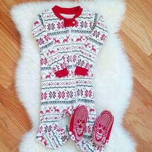 Burt's Bees Organic Cotton Pajamas,Size 18 months